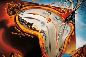 The melting clock salvador dali