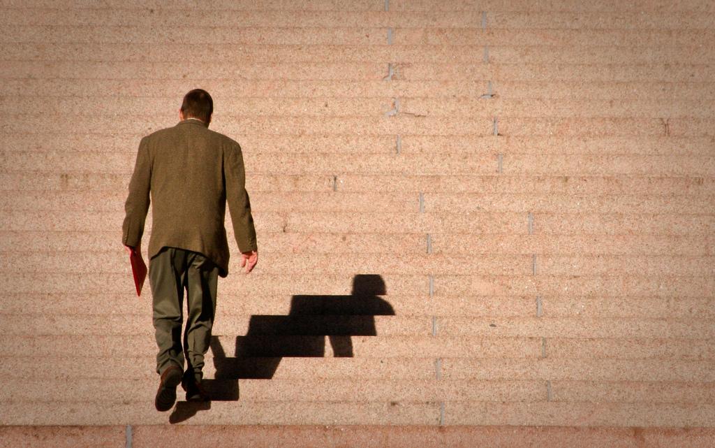 A vida é mais fácil quando você escolhe a escada