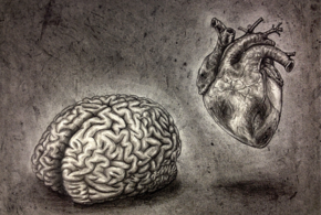 Self portrait  minus the nonsense  brain   heart  by alisagirard d64o1sm