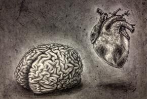 Self portrait  minus the nonsense  brain   heart  by alisagirard d64o1sm
