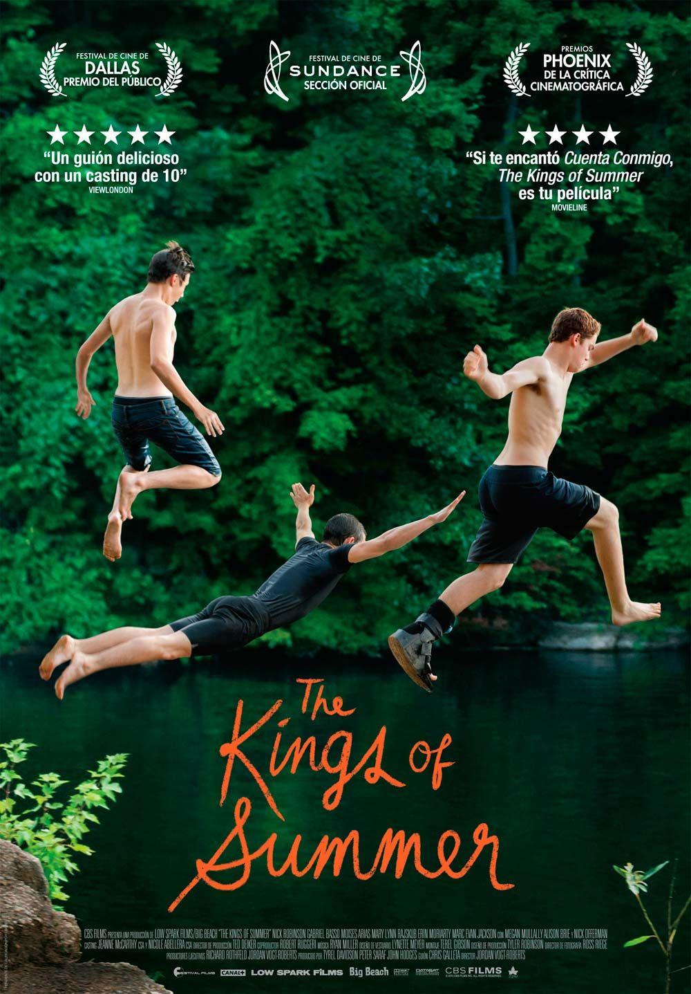 Image result for os reis do verão filme poster