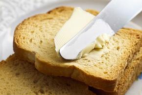 Manteiga pao torrada 17558