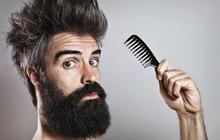 Penteando barba