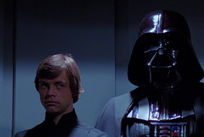 Luke kidnapped by darth vader