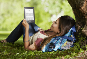 All new kindle paperwhite reading outdoors