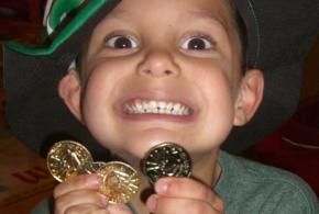 Crianca moeda
