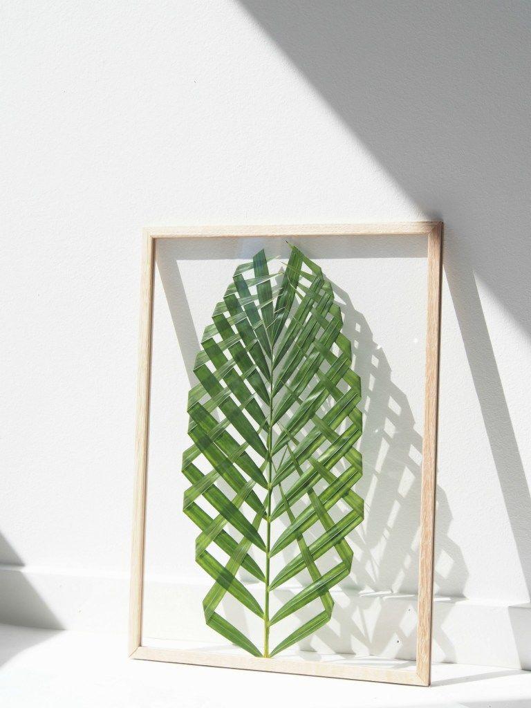 Como fazer um quadro com folha de palmeira papodehomem - Cuadros de leroy merlin ...