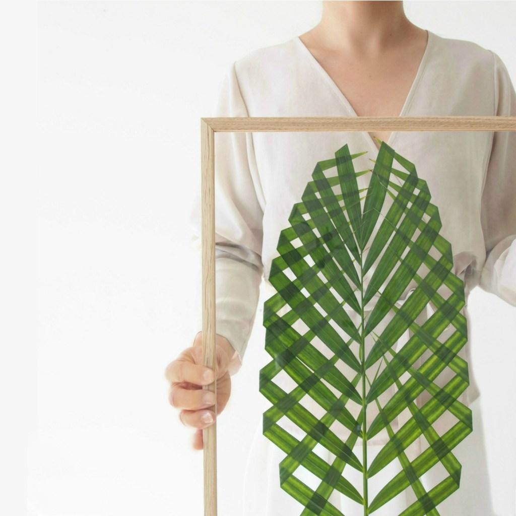 Como Fazer Um Quadro Com Folha De Palmeira PapodeHomem