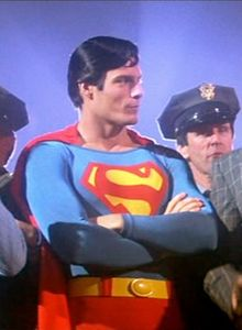 Superman the movie 1978 ned beatty as otis christopher reeve as superman and gene hackman as lex luthor