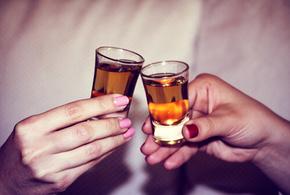 Brinde copo cachaca