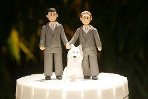 Bolo de casamento gay jpg