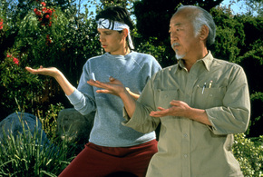 Karate kid daniel san mentor myagi jpg