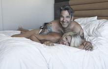 O sexy older couple in bed facebook jpg