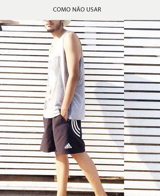 465be61add É possível usar bermudas esportivas (lê-se moletom ou poliéster) no dia a  dia e ainda estar bem vestido. Apenas atente para a modelagem